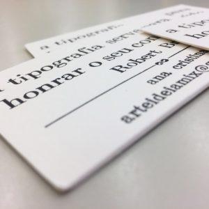 La impresión tipográfica y el uso de papeles especiales